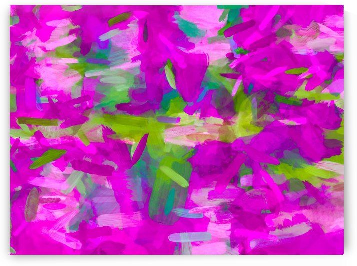 splash painting abstract texture in purple pink green by TimmyLA