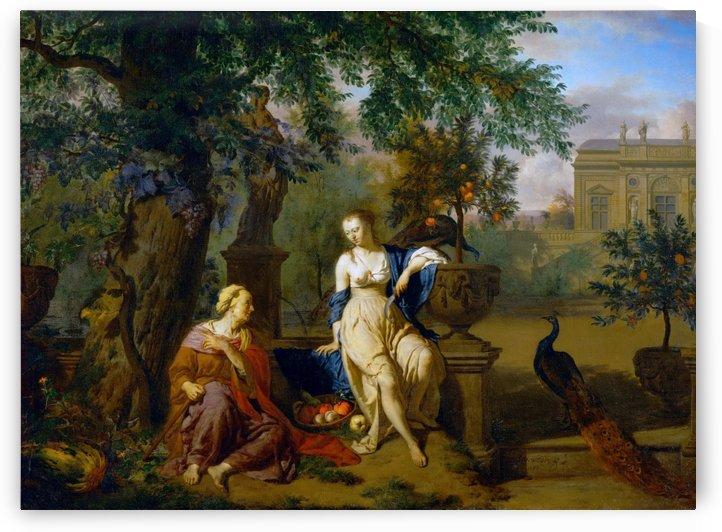 Vertumnus and Pomona by Adriaen van de Velde
