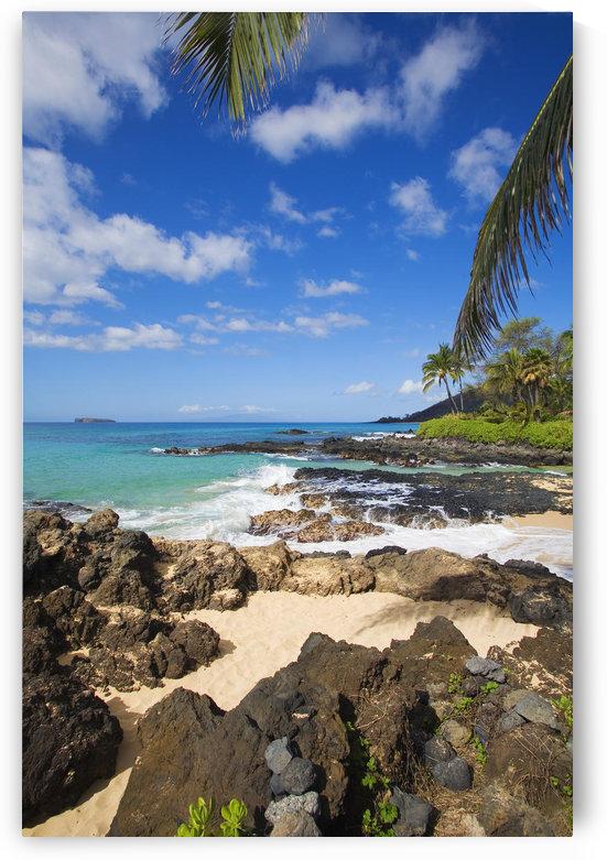 USA, Hawaii Islands, Maui, Maui Wai Or Secret Beach And Rocky Surroundings; Makena by PacificStock
