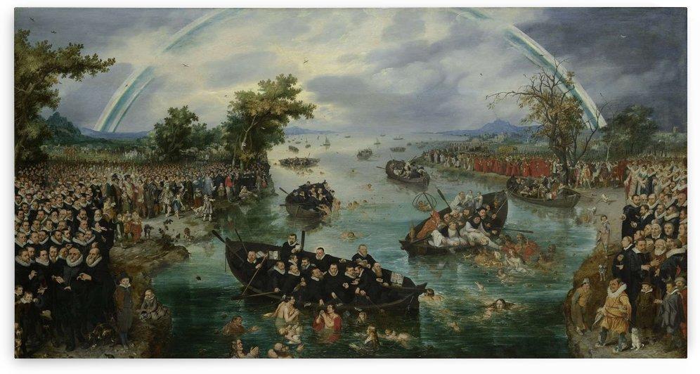 Fishing for souls by Adriaen van de Velde