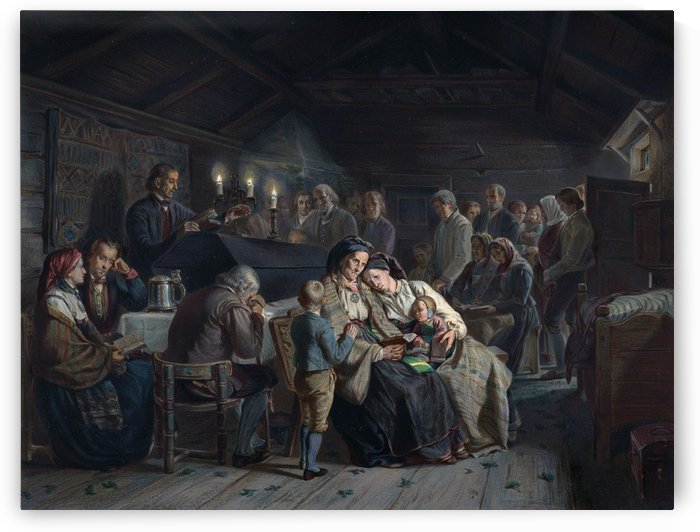 Et Gravol by Adolph Tidemand