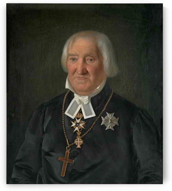 Portrett av Christian Sorensen by Adolph Tidemand