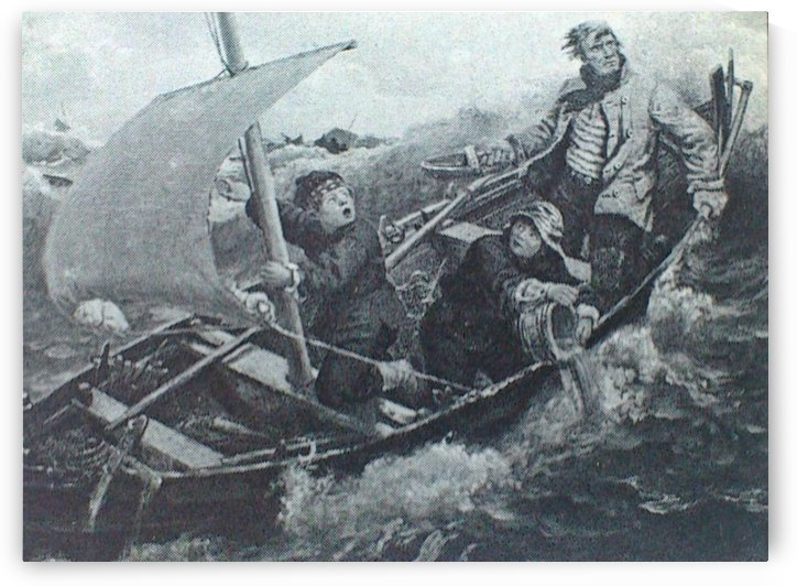 Havsnaud by Adolph Tidemand
