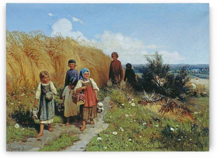 Zhnitvo by Alexei Danilovich Kivshenko