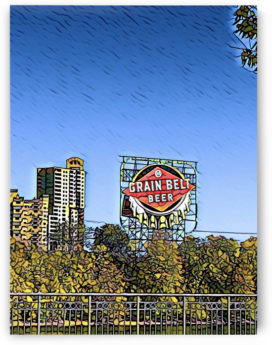 Grain Belt Beer by Lisa Drew Minneapolis Photo Artist