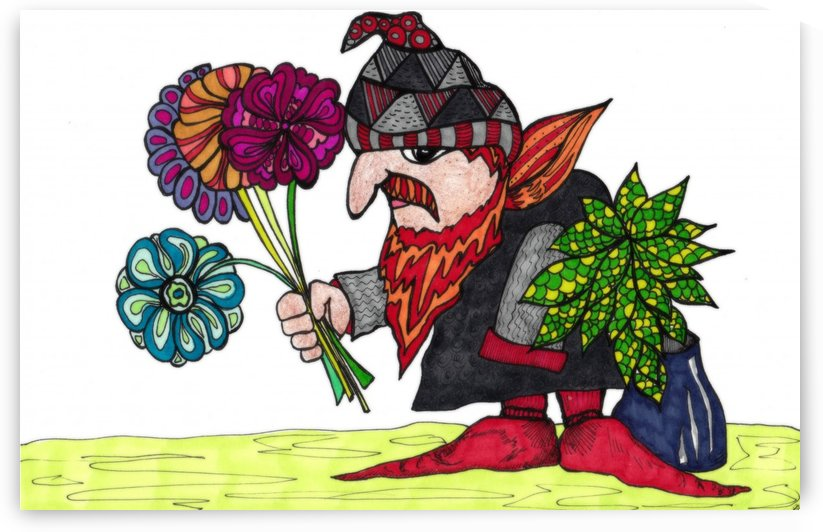 Spring Elf by Susan Watson