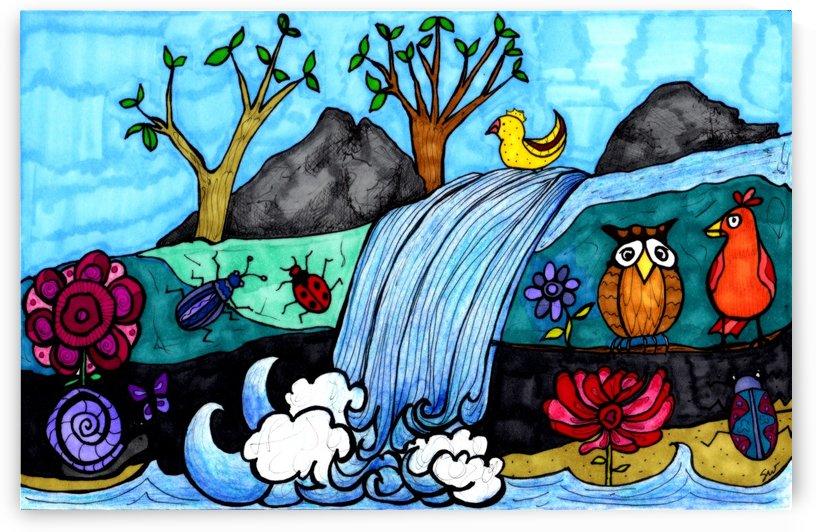 Wonky Waterfall by Susan Watson