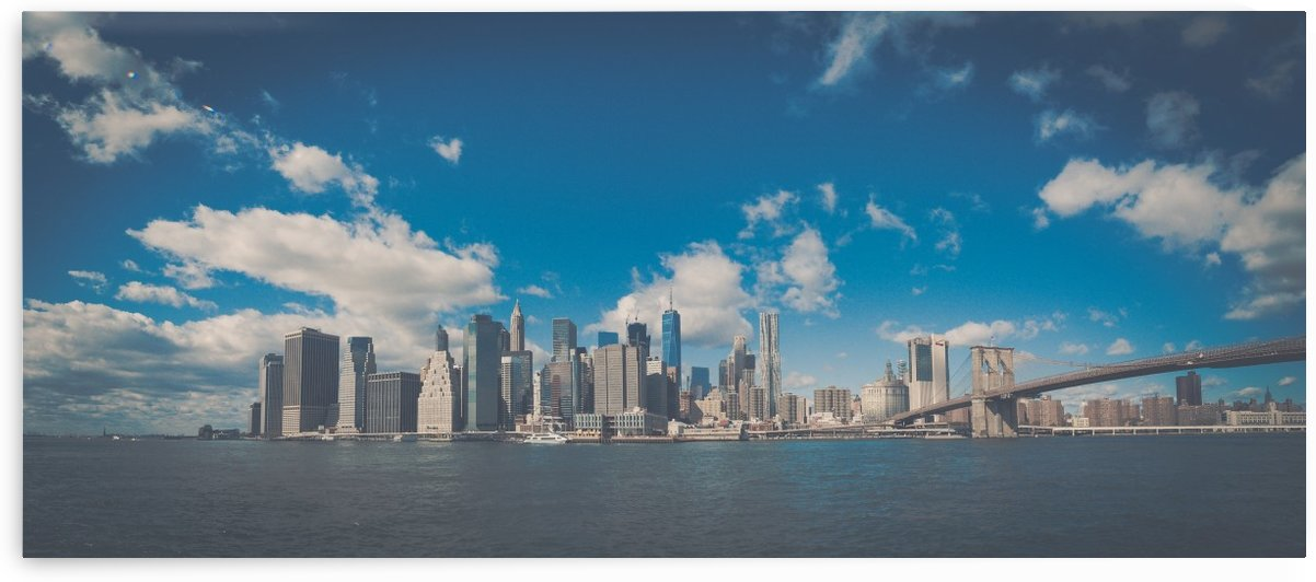 New York Panorama by Philip Champagne