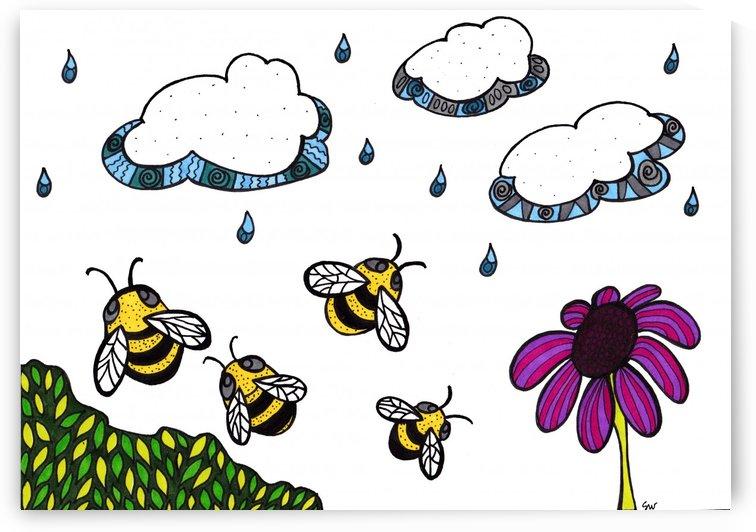Rain Bees by Susan Watson