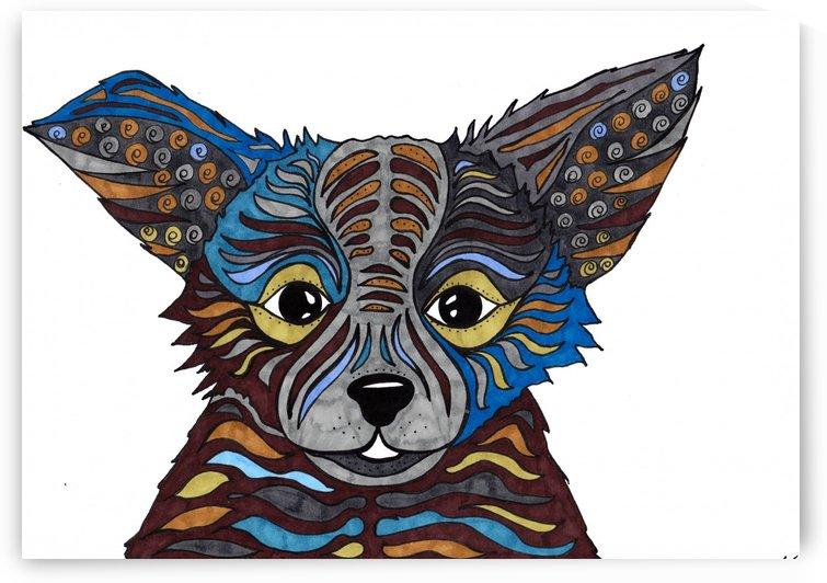Ear pup by Susan Watson