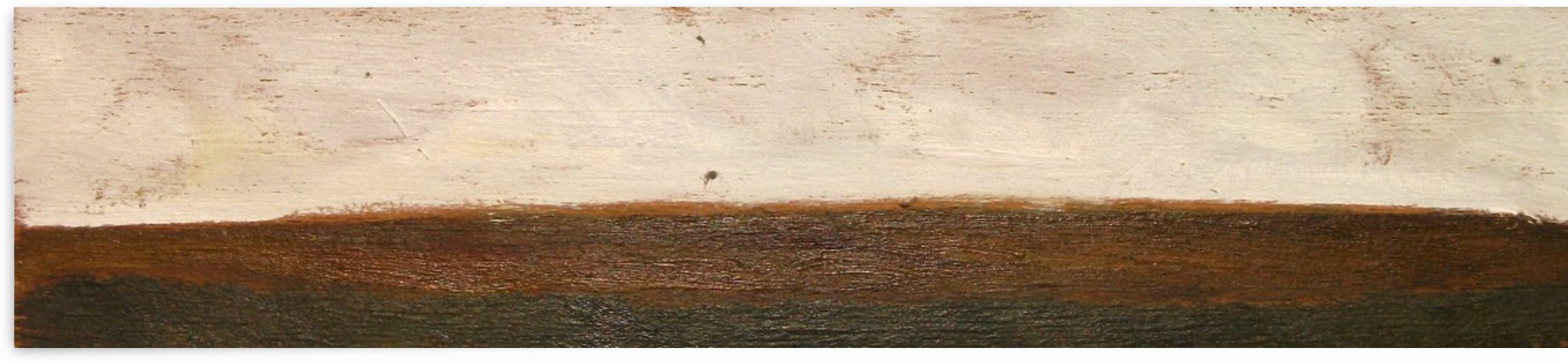 ITALIAN COUNTRYSIDE LANDSCAPE: HILL IN THE ROMAN CAMPAGNA - Italian and roman countryside landscapes, oil on wood series Painting by Alessandro Nesci
