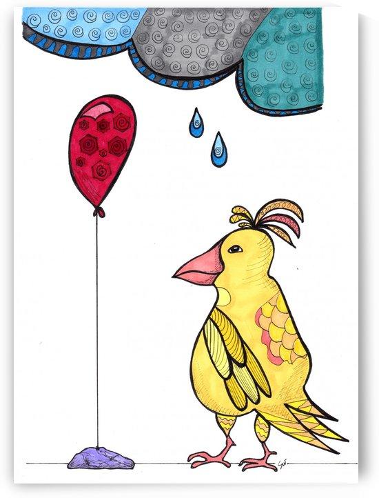 Balloon Bird by Susan Watson