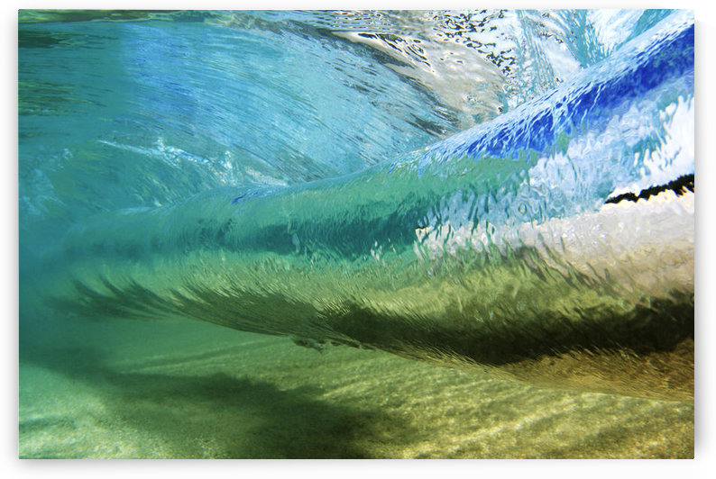 Underwater View Of Wave; Hawaii by PacificStock