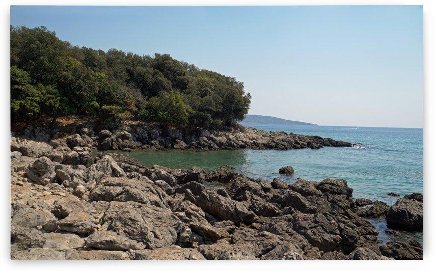 bay in politin in croatia by Babetts Bildergalerie