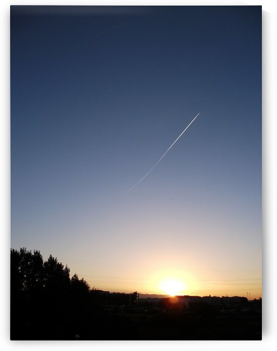Photography, landscape, airplane - The dawn air flight - Photography, Italy, Italian photography by Alessandro Nesci