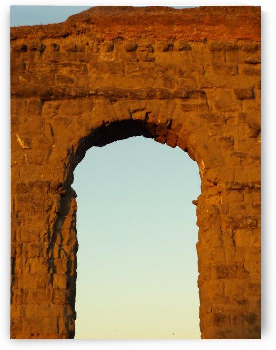 Italian Sunshine - Roman aqueduct - The Roman landscape, Rome, Italy, photography by Alessandro Nesci
