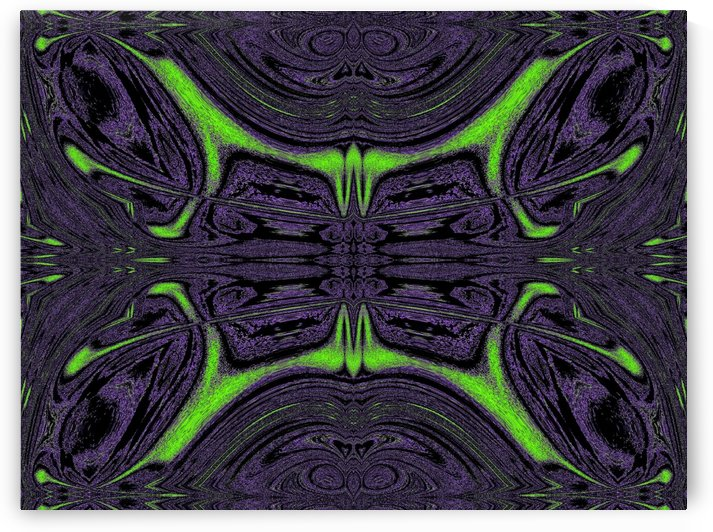 Green Butterfly 5 by Sherrie Larch