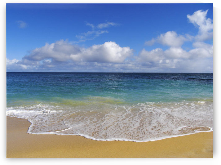 Hawaii, Maui, North Shore, Beautiful Day On Baldwin Beach by PacificStock