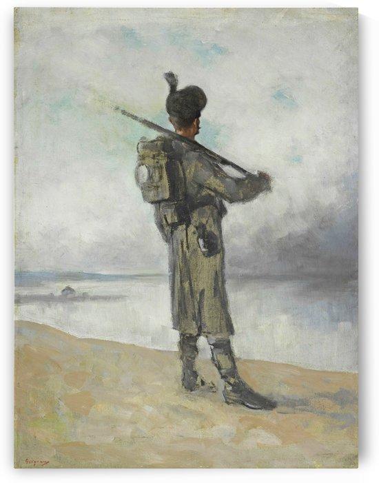 Danube guard by Nicolae Grigorescu