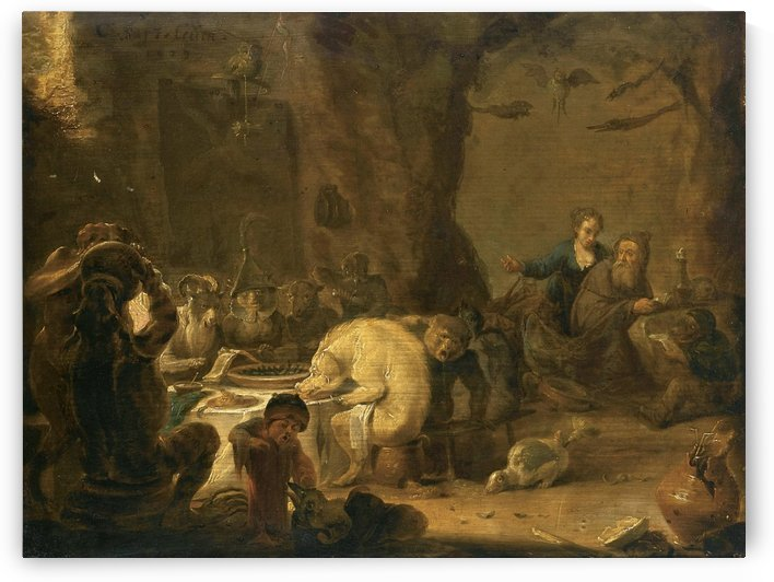 The Temptation Of Saint Anthony, 1629 by Cornelis Saftleven