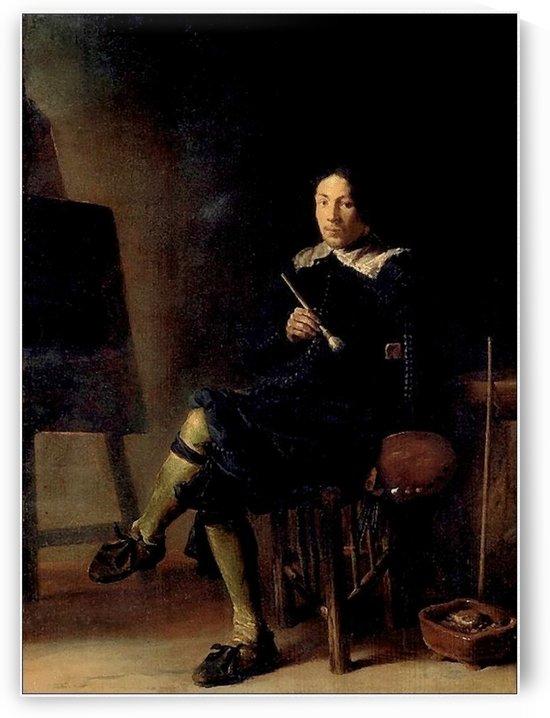 Autoportrait by Cornelis Saftleven