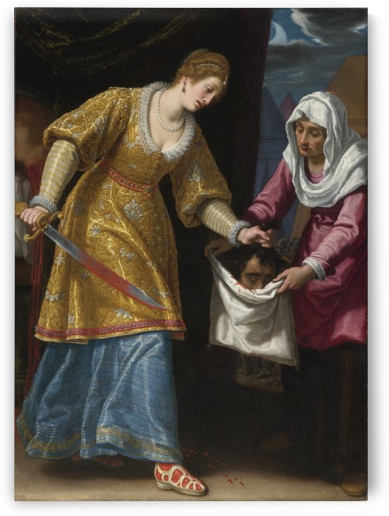 Judith and Holofernes by Jacopo Vignali