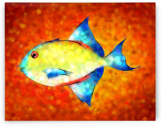 Esperimentoza - gorgeous fish by Cersatti Art