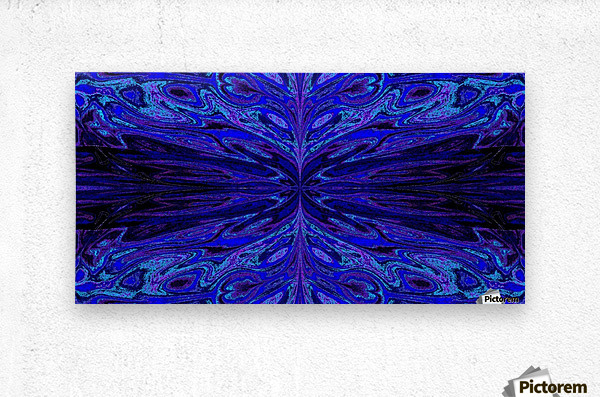 Queen of the Butterflies 51  Metal print