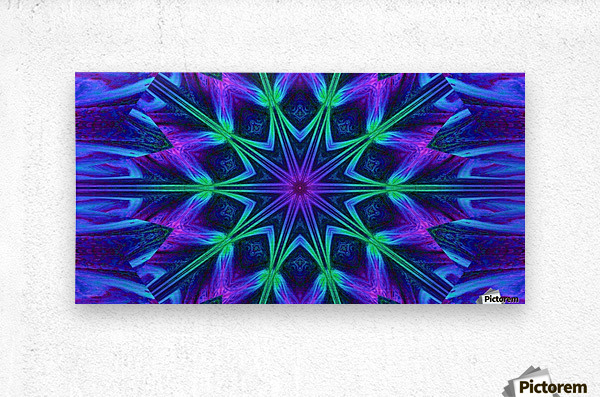 Night Flower 1  Metal print