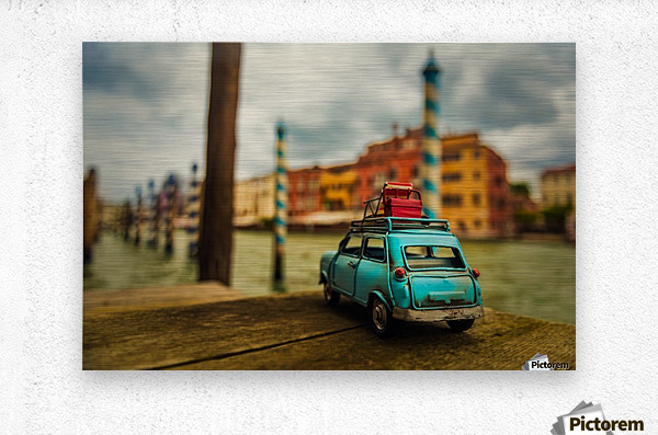 Venice Stopped  Metal print