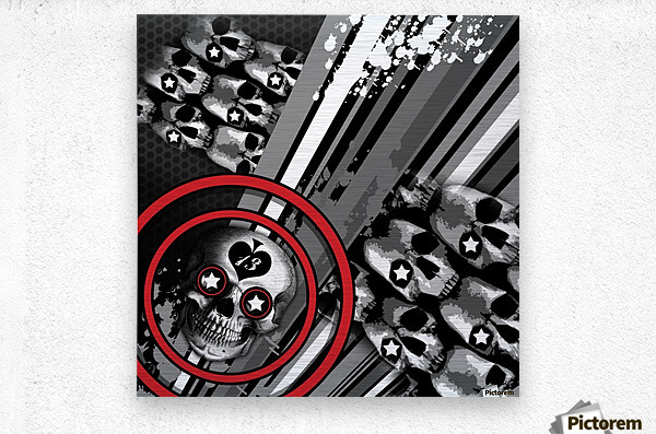 hoodtest_max  Metal print