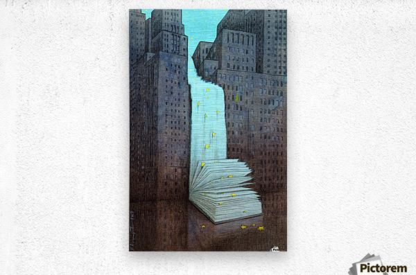 dream book  Metal print