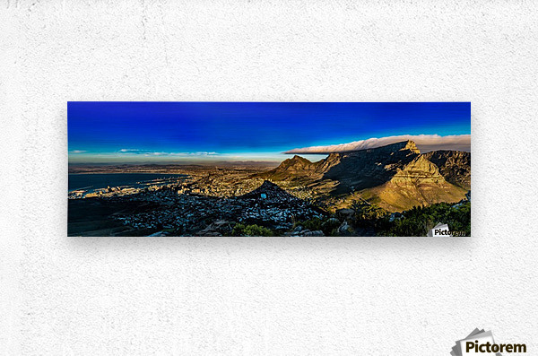 Cape Town's Table Mountain  Metal print