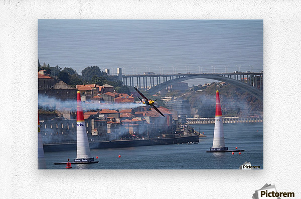Oporto Red Bull Air Race 2017  Metal print