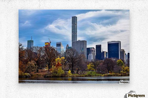 Autumn Central Park   Metal print