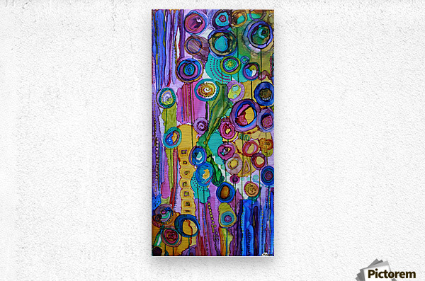 Cosmic Forest  Metal print