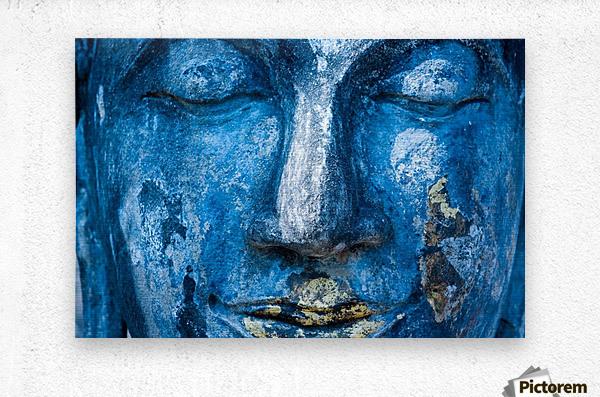Buddha Face  Metal print