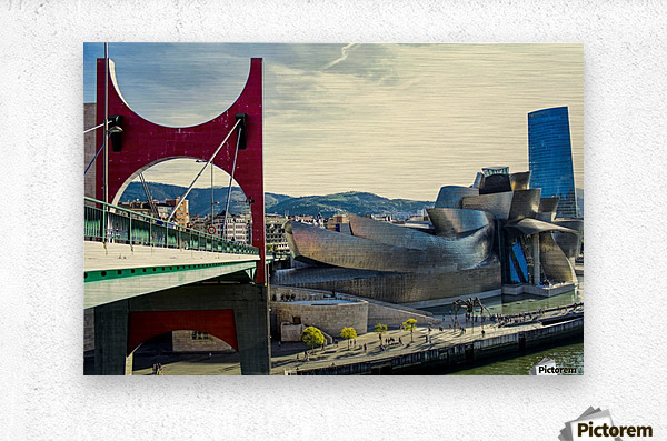 Bilbao Museum - Basque Country  Metal print