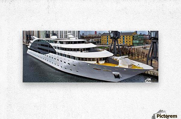 Cruise ship - Super Panoramic  Metal print