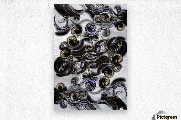 The Tight Creation  Metal print
