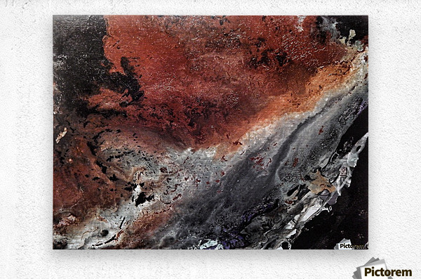 Cataclysm  Metal print