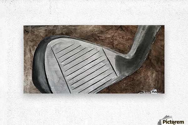 Golf Nouveau I  Metal print