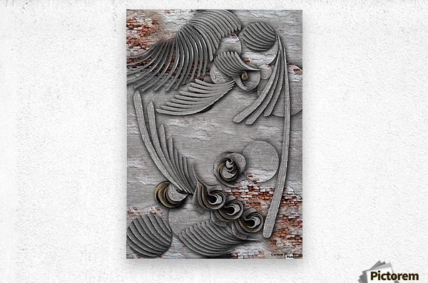 Bourgeoisie Creation  Metal print