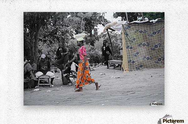 Senegal  Impression metal