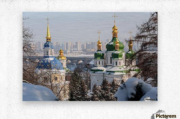 Vydubitskii Monastery in Kyiv  Metal print