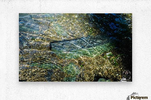 Lake Crystal  Metal print
