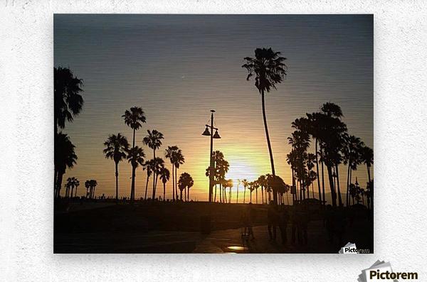 Venice Beach, California  Metal print