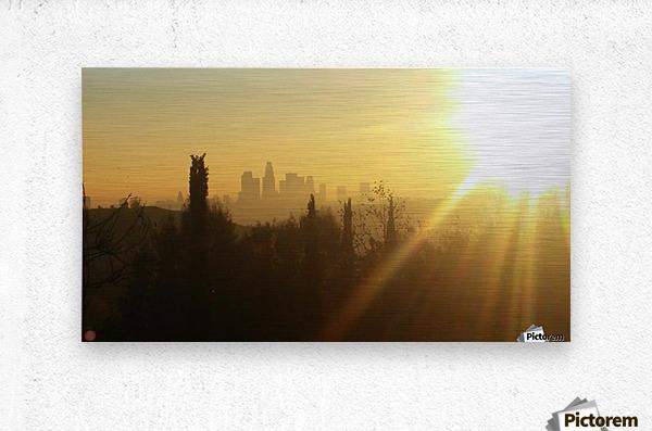 Los Angeles, Ca  Metal print