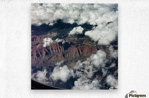 Arizona Canyons  Metal print