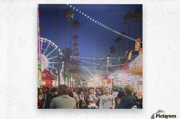 Pomona Fair, California  Metal print